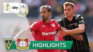 Alemannia Aachen - Bayer 04 Leverkusen 1:4 | Highlights - DFB-Pokal 2019/20 | 1. Runde