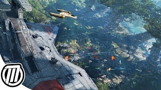 Star Wars Battlefront 2: Biggest Space & Ground Battles - Gameplay Live Stream