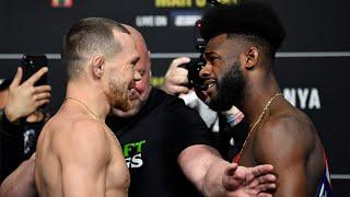 <b>UFC 259</b>: Weigh-in Faceoffs