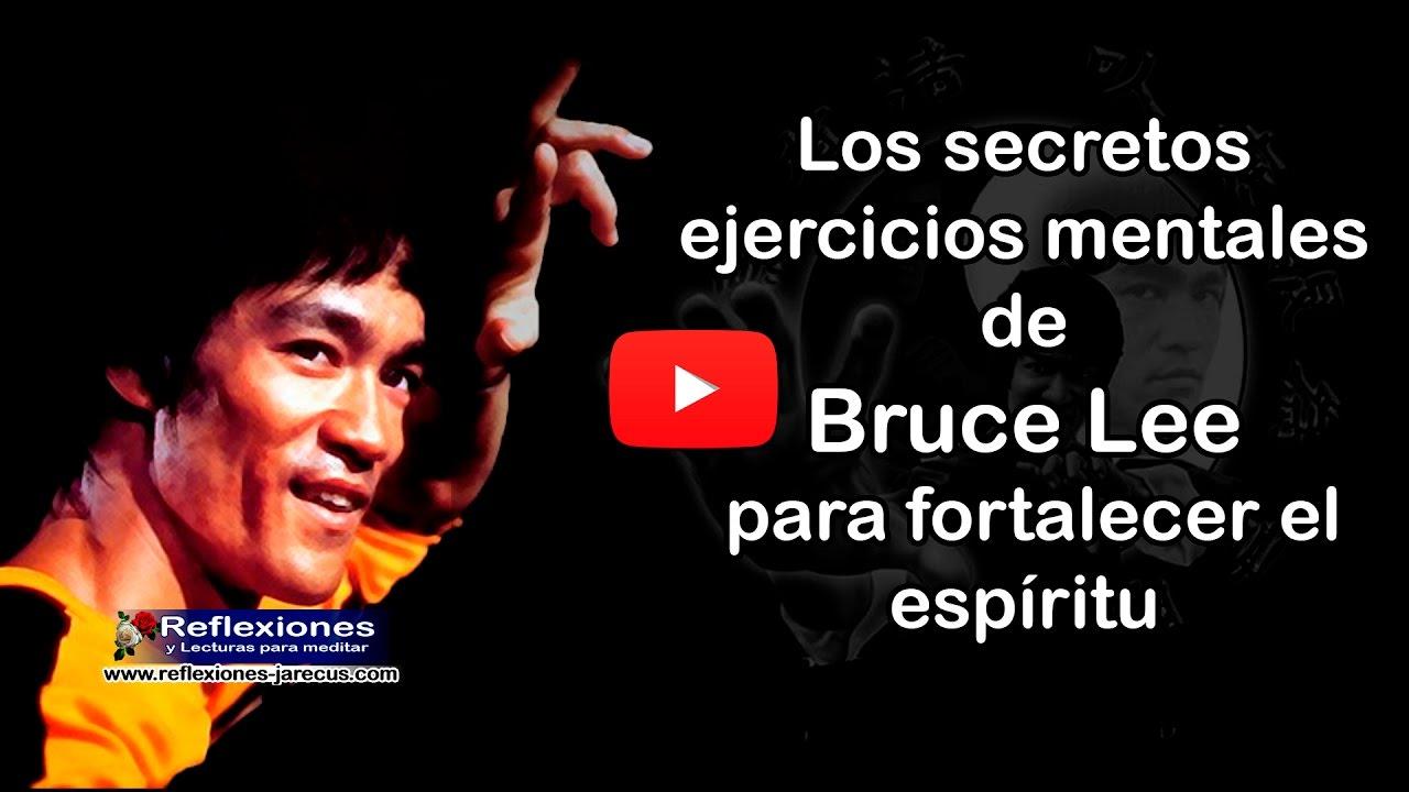Los secretos ejercicios mentales de Bruce Lee para