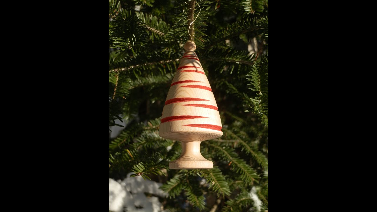 turning a christmas tree ornament youtube - Christmas Tree Ornament