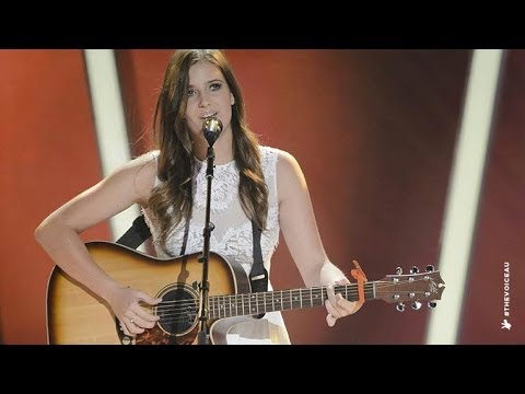 Jayde Grey Sings Free Fallin  The Voice Australia 2014