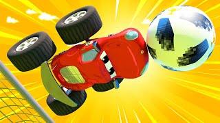 Monster trucks for children - Special FIFA WORLD CUP - Monster Town world cup  - Monster Town
