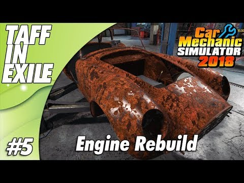 Car Mechanic Simulator 2018 | Part 5 | Rebuilding the Cobra V8