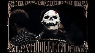 Vladimir Cauchemar & Caballero & JeanJass - La Famille Adam (Official Lyrics Video)