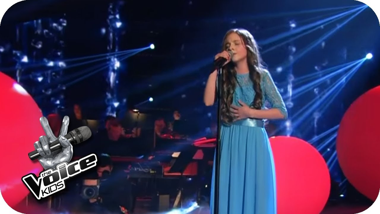 Schubert Ave Maria Sofie Finale The Voice Kids 2017 Sat 1 Youtube