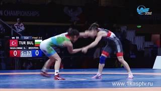 Триумфом для сборной России завершился чемпионат Европы по спортивной борьбе в Каспийске, в том числ