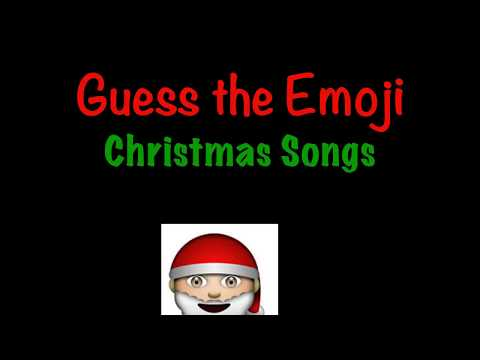 Guess The Emoji Christmas Song