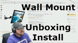 Unboxing / Install /Mount It! MI-4151 Full-Motion TV Wall Mount Bracket - Up 42