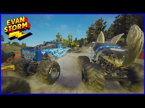 Monster Jam Steel Titans @ Mount Crushmore Ice Cream Man Higher Education Backwards Bob Blue Thunder |