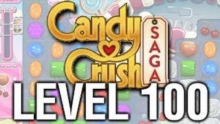 Candy Crush Saga - level 100 - 3 stars - level finished