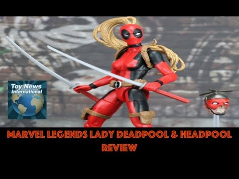 Marvel Legends Lady Deadpool /& Headpool 6 Inch Figure NEW