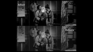 """1968《三鳳震武林》 修復前後比對 Restored """" Vengeance of the Phoenix Sisters"""" Before u0026 After"""