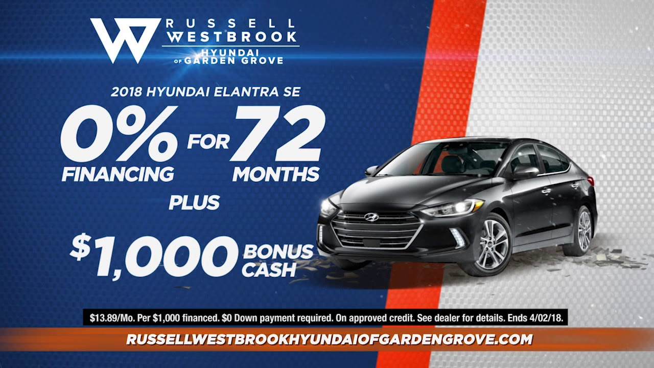 hyundai of garden grove. Season Of More Russell Westbrook Garden Grove Hyundai