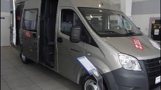 видео Цельнометаллический фургон ГАЗель Next: тест-драйв, характеристики, цена