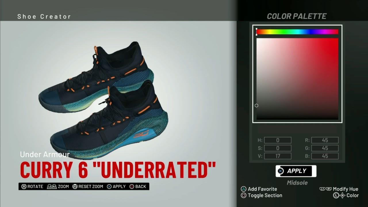 b3f071d02b20 NBA 2K19 Shoe Creator