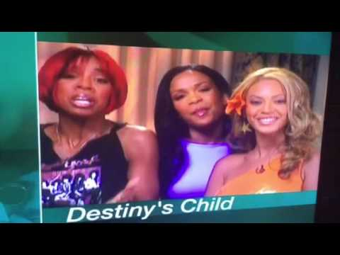 Destiny so child thanks the Beegees in person on Live By Request