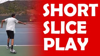 Short Ball Slice Play | PLAYS AGAINST PUSHERS