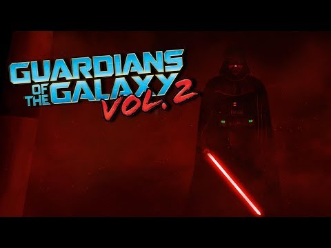 Darth Vader hallway scene | (Guardians of the Galaxy vol.2 opening style)