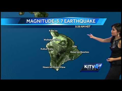 Earthquake shakes Kona side of Big Island
