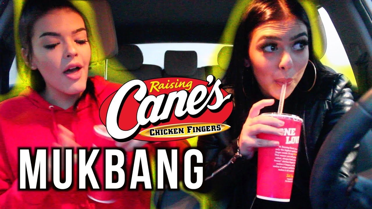 Download CANES MUKBANG WITH MY SISTER! CHAT WITH US! | Marissa Paige