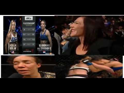 UFC 208 Holly Holm Vs Germaine De Randamie Post Fight Analysis