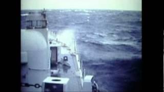 Falklands War 1982. Royal Navy Mine Clearance Divers.