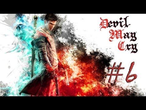 Смотреть прохождение игры DmC: Devil May Cry. Серия 6 - Битва с суккубшей.