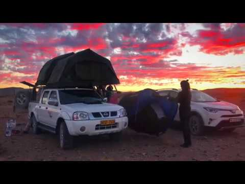 WOW air travel guide application NAMIBIA