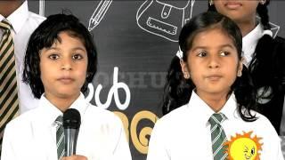 Ting Ting - School Mani | Day 8 | Kochu TV
