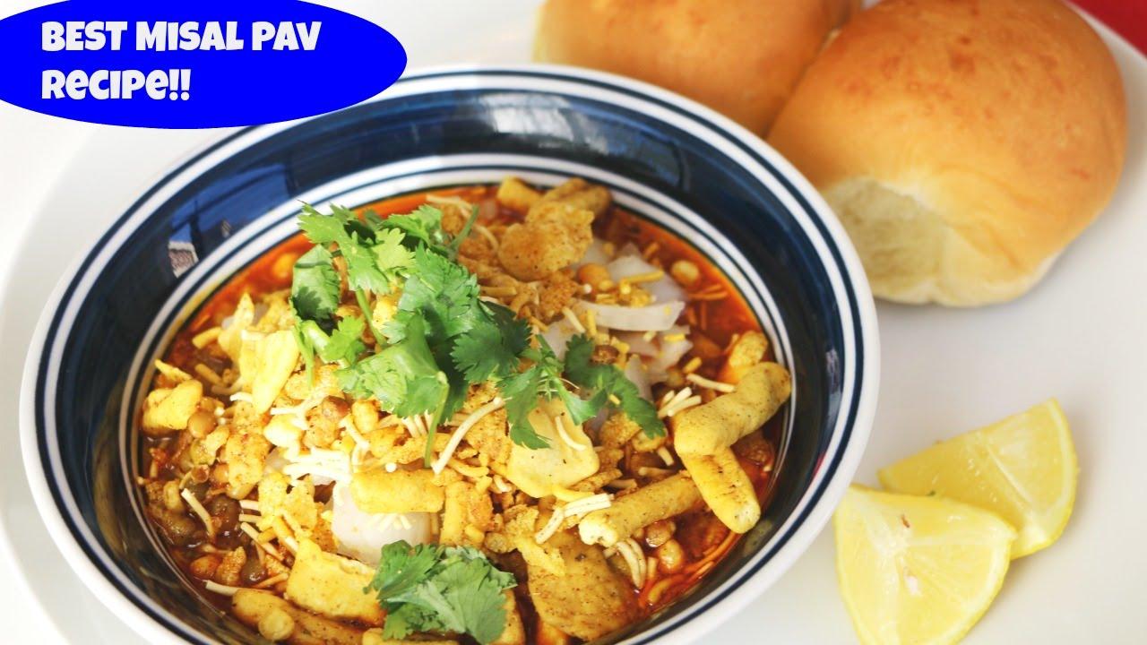 Misal Pav Recipe - NDTV Food  Misal Pav Recipe In Marathi