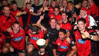 Super 12 Rugby Finals - 1996 to 2005
