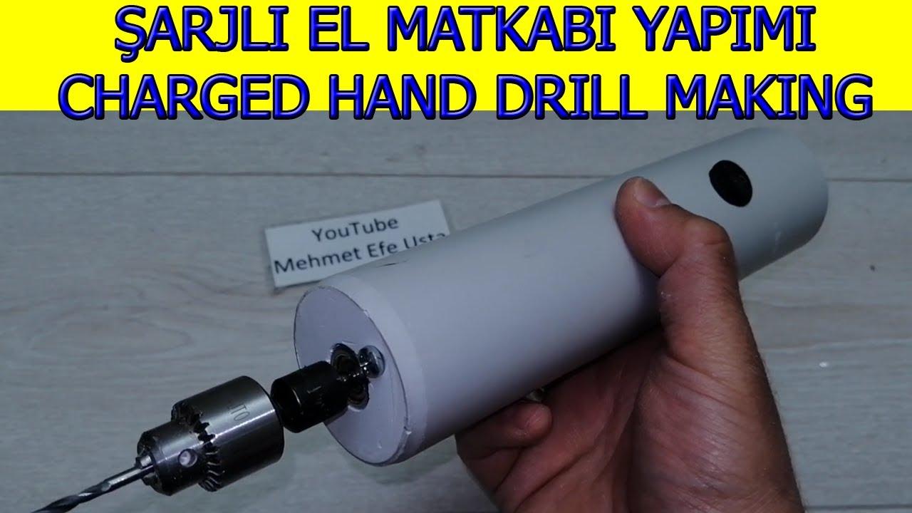 ev yapimi sarjli mini el matkabi yapimi rechargeable dremel homemade rechargeable mini hand drill