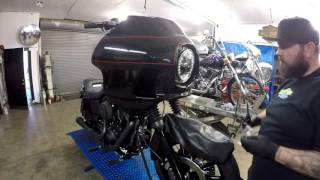 2014 Harley Dyna Low Rider Build Deviant Fab FXRD Faring @ Mainstreet Motorcycles