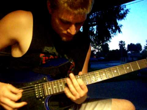 Guitar Riffs, Atmospheric. D-standard Tuning.