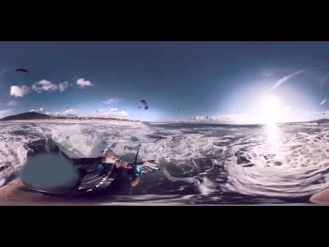The first 360° kitesurfing experience for Biotherm Homme #TakeYourDose