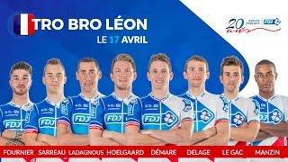 Composition de l'équipe FDJ pour le Tro Bro Leon