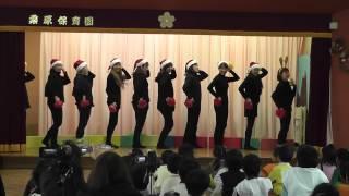 2012年桑原保育園おたのしみ会に、有志を集い、ラインダンスを発表しま...