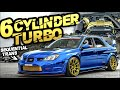 6cyl Subaru Sti?! 900hp Awd 3.0l Sequential Trans (crazy Backroad Launch!)