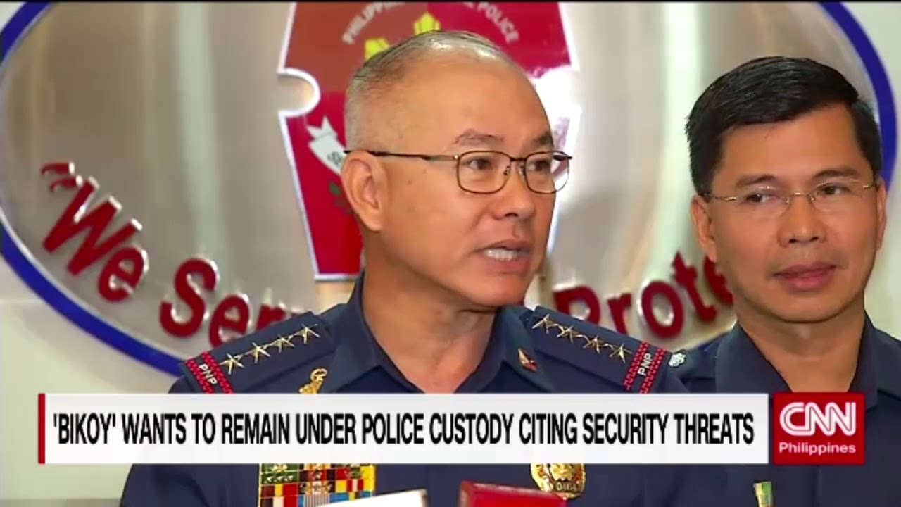 'Bikoy' wants to remain under police custody citing security threats