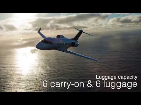 Bombardier Challenger 604 - LunaJets - Private jets at the b