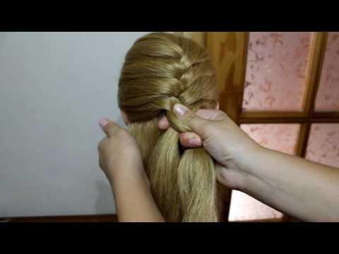 Как заплести косу девочке красиво и просто видео для начинающих