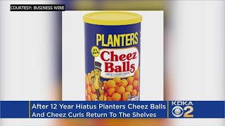 After 12 Year Hiatus Planters Cheez Balls and Cheez Curls Return To The Shelves