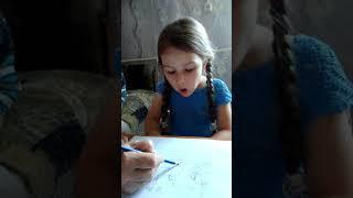 Вероника учится читать  Видеоурок про согласную Л