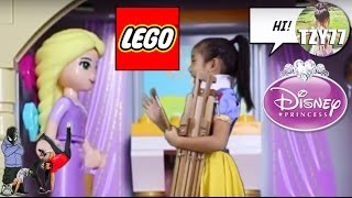 LEGO Disney Princess Rapunzel's Creativity Tower | Unboxing & Painting Session by Achilla