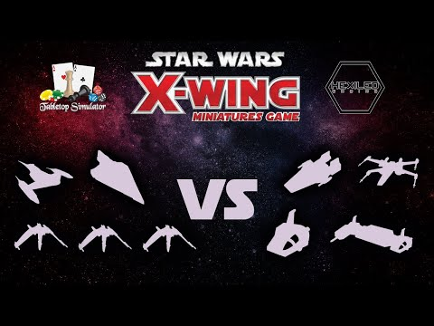 X-Wing 2nd Edition - Tabletop Simulator [8/13/19]