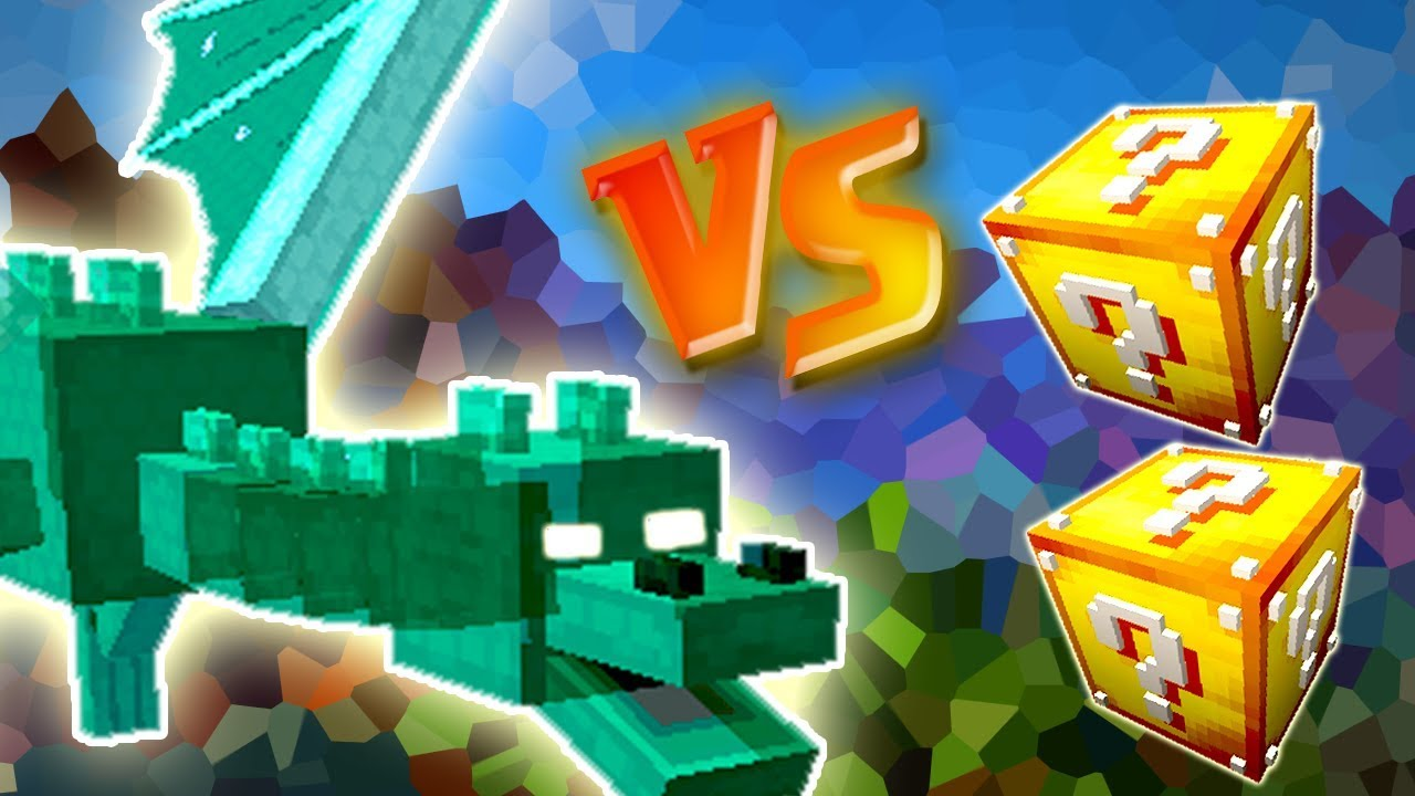 Dragao Caido Vs Lucky Block Minecraft Lucky Block Challenge