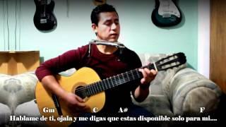 COMO TOCAR HABLAME DE TI - Banda MS (Letra y Acordes)