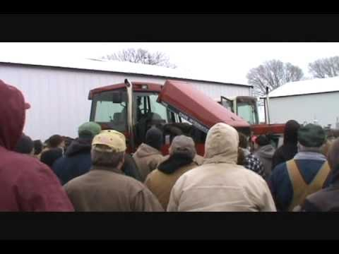 Ottawa, IL farm auction 1/25/11: Record Prices