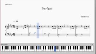 Video Ed Sheeran - Perfect - Piano Arrangement - Free Sheets download MP3, 3GP, MP4, WEBM, AVI, FLV September 2018
